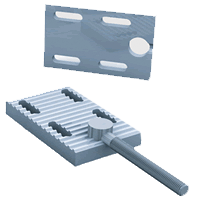 tension clamp for linear drive applications