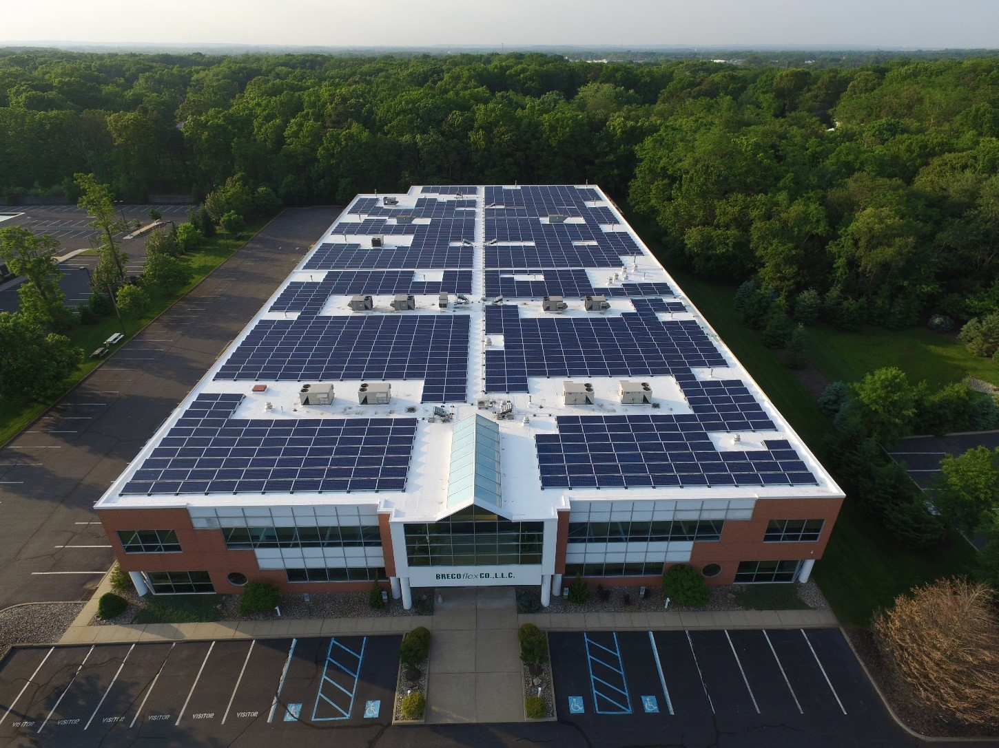 Solar Energy Comes To Brecoflex Doing Good For The