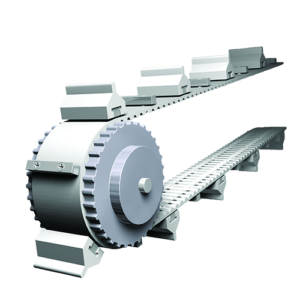 convertible profile system of belt pulley profiles and inserts