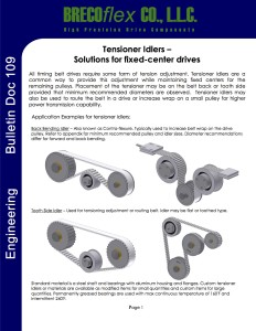 Engineering Bulletin_Doc109_Tensioners Idlers