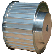 pulleys for linear drive-conveying and power transmission