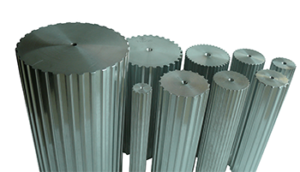 variety of aluminum pulley bar stock