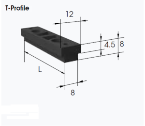 t profile for atn convertible timing belts
