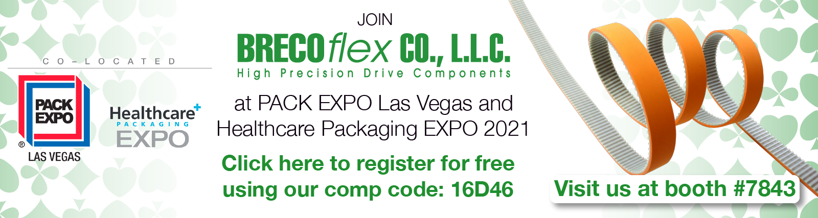 banner to register for pack expo